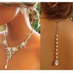 Bridal jewelry set , wedding jewelry set