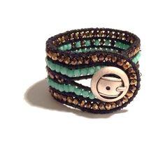 """Armband  """"Chan Luu"""" Style  von Tessie's  Schmuck & Deko auf DaWanda.com"""