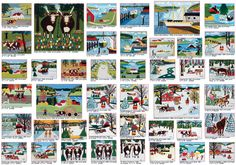 Seasons_The Paintings of Maud Lewis,  The entire Mayberry Exhibition in a Nutshell