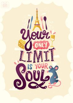 Ingenious Graphic Renderings of Quotes from Pixar Movies Artist Credit: Risa Rodil