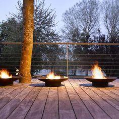 brasero de jardin en acier corten artiplant cuvettes de feu foyers de jardin ou braseros. Black Bedroom Furniture Sets. Home Design Ideas
