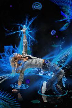 dance hip hop by ~temycroco on deviantART Little Girl Photography, Dance Photography, Dance Art, Dance Music, Baile Hip Hop, Dj Images, Shutter Speed Photography, Dancers Body, Fashion Photography Inspiration