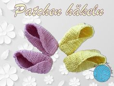 Baby Patchen häkeln - Anleitungen Crochet, Blog, Tutorials, Handarbeit, Ganchillo, Blogging, Crocheting, Knits, Chrochet