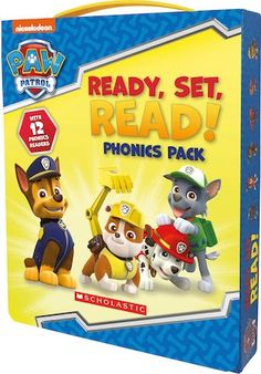 Practise reading with the PAW Patrol!  This boxed set includes 12 full-colour storybooks, each focusing on one phonics sound. Designed to help children from Reception to Year 2 practise their reading. Perfect for brushing up skills ready for the Year 1 Phonics Screening Test.  Phonics sounds covered: beginning and ending SH, CH and TH; S blends; R blends; L blends; OO sounds; AI/AY sounds; and OI/OY sounds. Oo Sound, L Blends, Short Vowel Sounds, Phonics Sounds, Short Vowels, Home Learning, Year 2, Brushing, Paw Patrol
