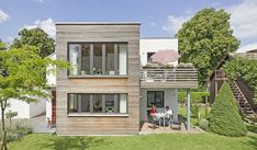 Bungalow Extensions, House Extensions, Haus Am Hang, Mansions, Architecture, Nice, House Styles, Outdoor Decor, Komfort