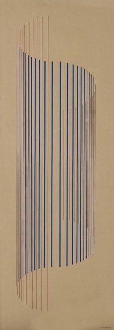 Lothar Charoux, 1970 Arte Linear, Linear Art, Principles Of Design, Elements Of Design, Graphic Design Illustration, Graphic Art, Illustration Art, Gill Sans, 3d Printing Diy