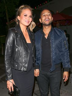 Star Tracks: Thursday, December 17, 2015 | THE BEST OF TIMES  | Parents-to-be Chrissy Teigen and John Legend have a lot to smile about as they head out from a Tuesday dinner date in West Hollywood.