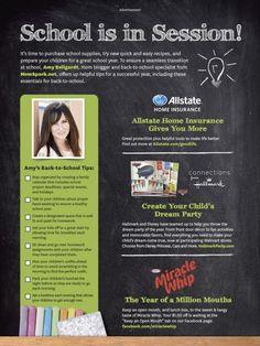 @Amy Bellgardt - Mom Spark featured in Better Homes & Gardens! (September 2013) #partner #bhg #bts #backtoschool #sp