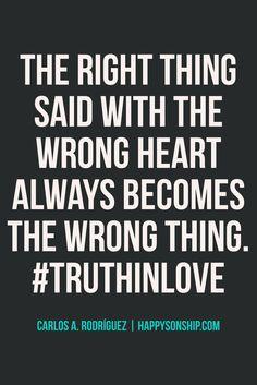#TruthInLove