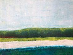 Minimalist contemporary landscape Irish Landscape, Contemporary Landscape, Landscapes, Minimalist, Sea, Gallery, Painting, Paisajes, Scenery