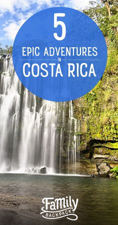 5 Epic Adventures in #CostaRica- If you are an adrenaline seeker, then Costa Rica should definitely be on your #bucketlist! This stunning Central American country has loads of #adventure and #fun #activities to offer thrill seekers. Check out our #traveltips on #things to do, which #Nationalparks offer the best adventures and more! We are sharing 5 epic adventures you won't want to miss out on!
