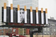 33 Creative Examples of Billboard Advertising -DesignBump Street Marketing, Guerrilla Marketing, Viral Marketing, Clever Advertising, Marketing And Advertising, Advertising Design, Marketing Ideas, Minnesota, Anti Smoking