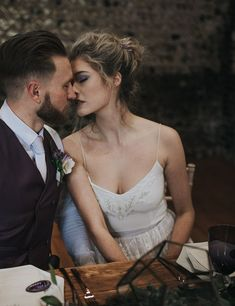 As seen on the Crystal hand beaded camisole top and Iris skirt. __________ Full image credits: Venue Stylist and Planner Photographer Hair & Makeup Florist Dress Stationery Cake Color Of The Year, Pantone Color, Dresses Uk, Ultra Violet, I Dress, Elegant Wedding, Wedding Blog, Iris, Gothic