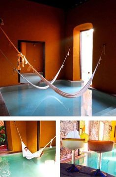 The Hacienda Puerta Campeche, Yucatan, Mexico - The hotel is very small and in great condition and also very in touch with the place. And their pools are absolutely stunning.
