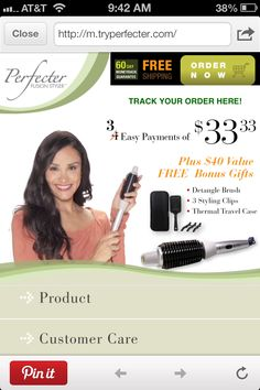 Perfector Fusion Styling As Seen On Tv | Apps Directories