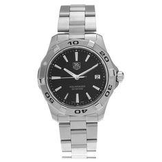 Tag Heuer Men's WAP1110.BA0831 'Aquaracer' Link Watch