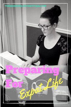 preparing for expat life