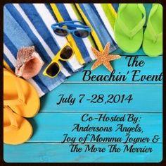 The Beachin Event Blogger Opp. Event starts 7/7.