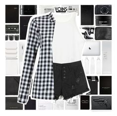 """""""YOINS"""" by xgracieeee ❤ liked on Polyvore featuring Converse, Seletti, Stila, NARS Cosmetics, COVERGIRL, Forever New, Blink, Native Union, Oskia and Revolver"""