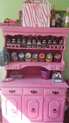Pink zebra office