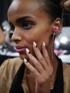 Tracy Reese Spring 2013 Nails Looks by Sally Hansen - The Budget Babe