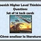 This product contains a set of 14 task cards that will be used to have students answer critical thinking questions about literature.  The cards wil...