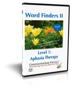 Aphasia Home Therapy Videos by Kimerly Robins. SLP Pinned by SOS Inc. Resources. Follow all our boards at  http://pinterest.com/sostherapy  for therapy resources