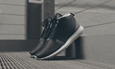 Nike Roshe Run NM Sneakerboot Black Grey