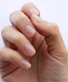 Love this Silver Swiss Dot Nail Wraps - Set of Two on #zulily! #zulilyfinds