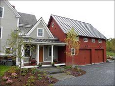 Hinesburg Vermont mudroom and garage addition