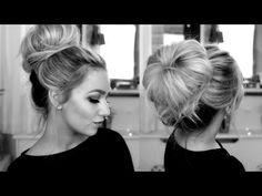 CLASSY DONUT BUN HAIR TUTORIAL - YouTube
