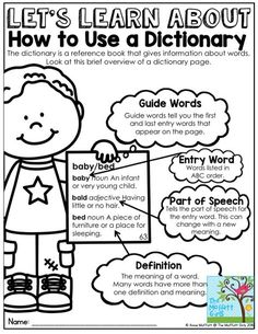 How to Use a Dictionary- This packet is loaded with fun activities to get 2nd grade students a genuine opportunity to build dictionary skills!