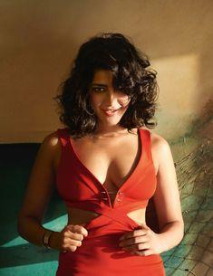 Shruti Haasan Hot Photoshoot In Red Dress