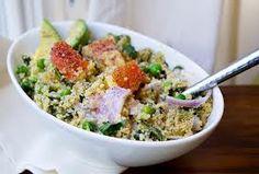 Couscous salad , i add whatever i feel like in .