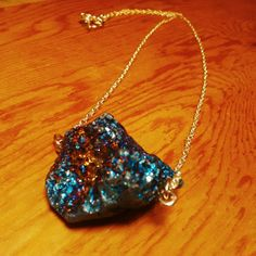 Check out this item in my Etsy shop https://www.etsy.com/listing/489147627/bohemian-galaxy-druzy-statement-bar