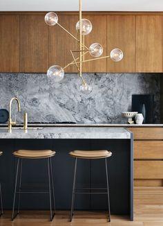Modern Mid Century Kitchen Remodel Ideas - Page 8 of 51 Kitchen Design Decor, Decor, Interior Design, Mid Century Modern Kitchen Design, Kitchen Remodel, Modern Kitchen Design, Stylish Bedroom Design, Home Decor, Rustic Kitchen