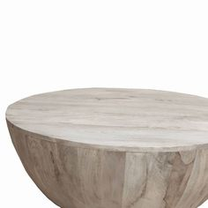 Mango Wood Coffee Table - The Urban Port : Target Wine Barrel Coffee Table, Mango Wood Coffee Table, Drum Coffee Table, Round Wood Coffee Table, Coffee Table Design, Wooden Textures, Wood Rounds, Light Table, Shape