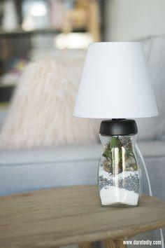 Diy lampara terrario                                                                                                                                                      Más