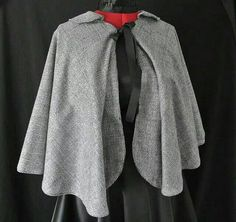 Check out this item in my Etsy shop https://www.etsy.com/uk/listing/220356447/vintage-style-womens-cape
