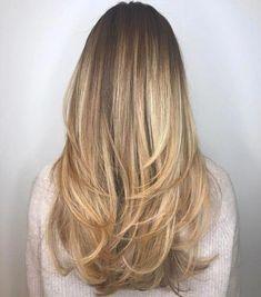 Long haircut with angled layers long hai, layered hair, graduated hair Summer Haircuts, Long Layered Haircuts, Layered Hairstyles, Long Angled Haircut, Long Hairstyles With Layers, Haircut Long Hair, Straight Hairstyles For Long Hair, Graduated Haircut, Girl Haircuts