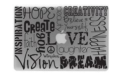 Love Decal Hope Decal Writing Macbook Pro Decal / by visualboss, $8.90