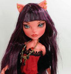 """** Karim ** 11"""" 12"""" 1/6 OOAK custom Monster high Cleo de Nile Repaint by Yu #Dolls"""