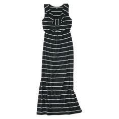 Mossimo Knit Maxi Dress from Target. Love Love Love! It has a nautical look to it, which I feel is perfect for summer. I think I might have to save up to buy this!
