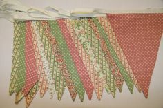 Dusky Pink and Sage Green Wedding Bunting for hire, from per metre for 4 day hire period, high quality fabric bunting made in Chester. Wedding Bunting, Wedding Fun, Wedding Stuff, Wedding Ideas, Sage Green Wedding, Fabric Bunting, Pink Themes, Pure White, Colours