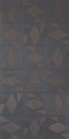 black lava stone tile