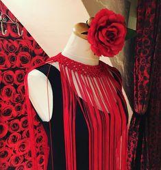 Get your custom made Flamenco dress designed by Mercedes Mestre today! Barcelona, Custom Made, Designer Dresses, Ruffle Blouse, Tops, Women, Fashion, Flamingo, Moda