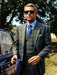 The iconic Steve McQueen