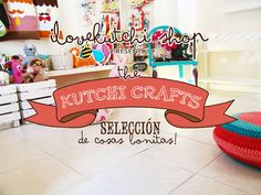 """""""kutchi crafts"""" parade! by ilovekutchi shop. Os presentamos los kutchi crafts, selección de cosas bonitas! Un nuevo proyecto de la ilovekutchi shop con mucho cariño para todos los amantes del handmade."""