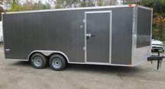 New 2015 Five Star Series Enclosed Cargo, Car Trailer,8.5 x 18 in Cargo / Utility Trailers   eBay