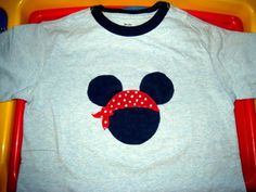 How to Make a Custom Pirate Mickey Mouse Shirt for a Disney Vacation - Yahoo! Voices - voices.yahoo.com